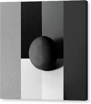 Tangent Canvas Print by Tom Druin