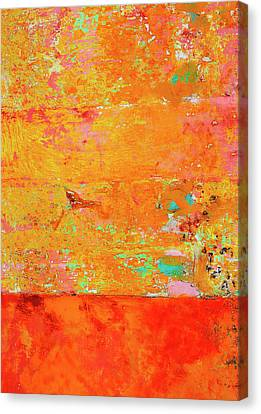 Tangerine Dream Canvas Print by Skip Hunt