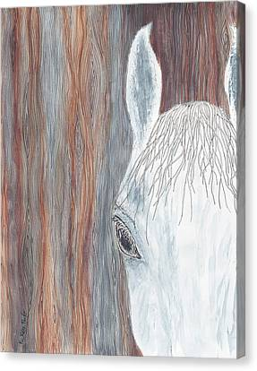 Forelock Canvas Print - Tanglewood by Kathryn Riley Parker