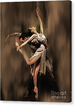 Tango Dance 9901 Canvas Print