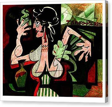 Tango Picasso Canvas Print
