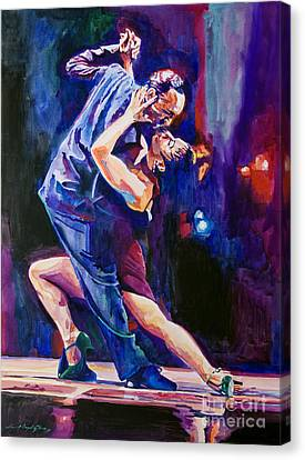 Tango Romantico Canvas Print