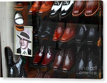 Tango Shoes For Carlos Gardel Canvas Print