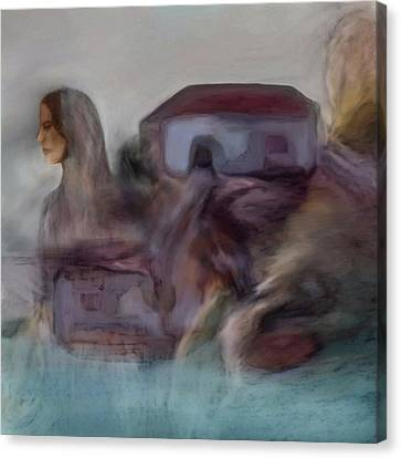 Tanker Canvas Print