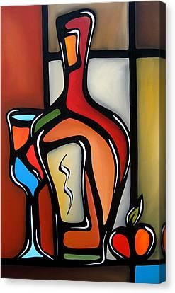 Tannins By Fidostudio Canvas Print by Tom Fedro - Fidostudio