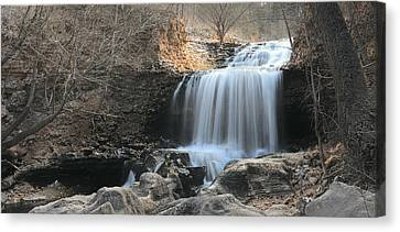 Tanyard Creek Arkansas Canvas Print by Lourry Legarde