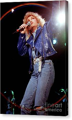 Tanya Tucker Canvas Print - Tanys Tucker-93-0674 by Timothy Bischoff