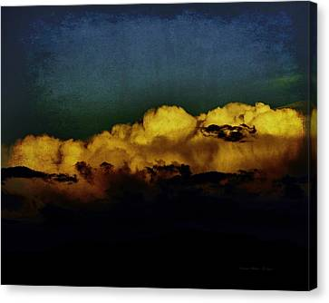Taos Canvas Print - Taos Clouds by Charles Muhle