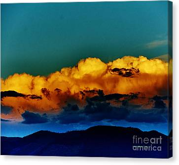 Taos Clouds IIi Canvas Print