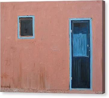Taos Pueblo Vi Canvas Print by John Terry