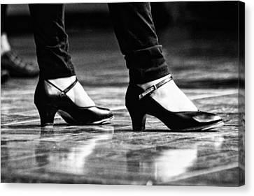 Tap Shoes Canvas Print by Lauri Novak
