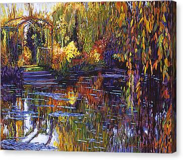 Tapestry Reflections Canvas Print by David Lloyd Glover