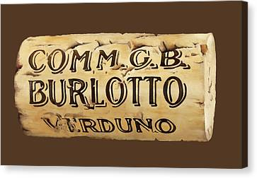 tappo Burlotto Canvas Print