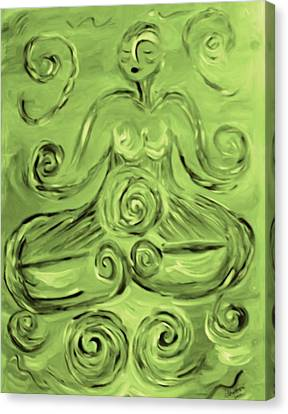 Tara Lotus Canvas Print