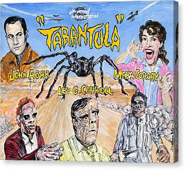 Tarantula - 1955 Lobby Card That Never Was Canvas Print