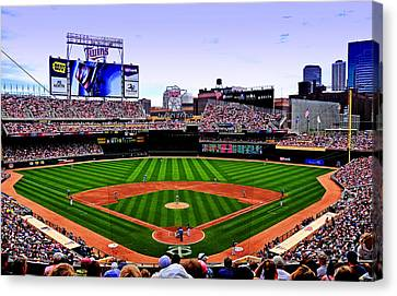 Target Field Canvas Print by Lyle  Huisken