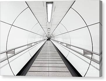 Target Lines Canvas Print by Svetlana Sewell