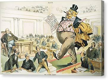 Tariff Lobbyist, 1897 Canvas Print by Granger