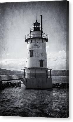 Tarrytown Lighthouse II Bw Canvas Print