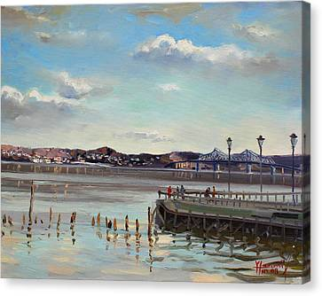 Tarrytown View Canvas Print by Ylli Haruni