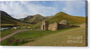 Tash Rabat View Canvas Print by Warren Photographic
