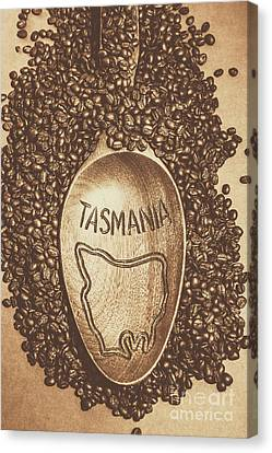 Tasmania Coffee Beans Canvas Print by Jorgo Photography - Wall Art Gallery