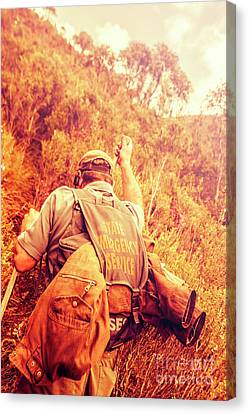 Destruction Canvas Print - Tasmania Search And Rescue Ses Volunteer  by Jorgo Photography - Wall Art Gallery