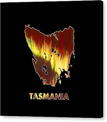 Tasmania - Southern Lights - Aurora Hunters Canvas Print by Anastasiya Malakhova