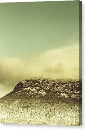 Tasmanian Mountain Ranges Canvas Print by Jorgo Photography - Wall Art Gallery