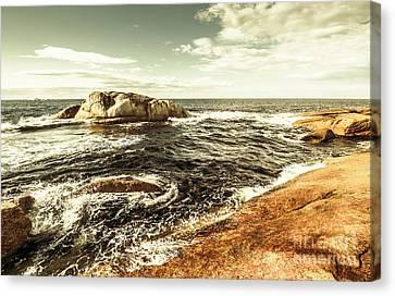 Tasmanian Sea Landscape Canvas Print