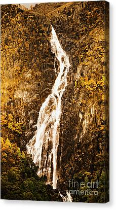 Tasmanian Waterfall Landscape Canvas Print by Jorgo Photography - Wall Art Gallery