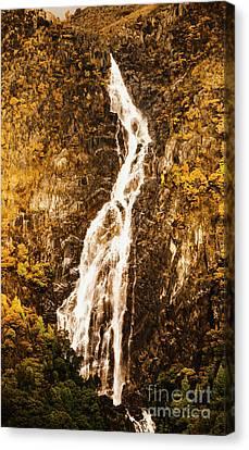 Tasmanian Waterfall Landscape Canvas Print by Jorgo Photography - Wall Art Gallery