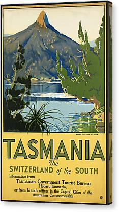 Tasmania_switzerland Of The South Canvas Print by David Wagner