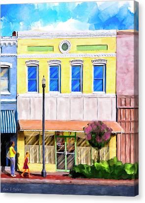 Taste Of Home - Josie's Restaurant Canvas Print