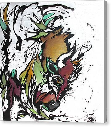 Tatonka Tt Canvas Print by Nicole Gaitan