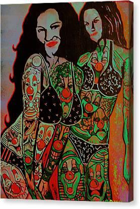 Tatt Canvas Print by Ottoniel Lima