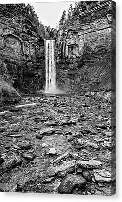 Taughannock Falls State Park Canvas Print by Stephen Stookey