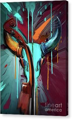 Taurus Canvas Print by Melanie D