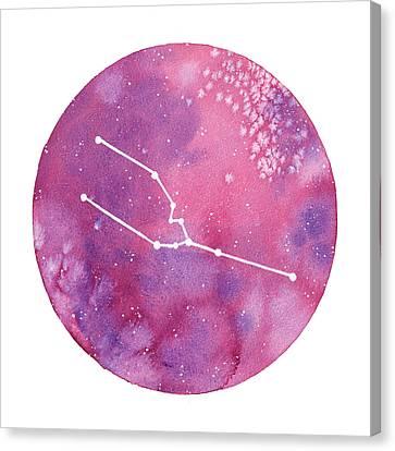 Taurus Canvas Print by Stephie Jones