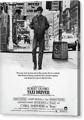 Taxi Driver Canvas Print by Hans Wolfgang Muller Leg
