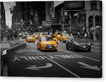 Taxi Please Canvas Print