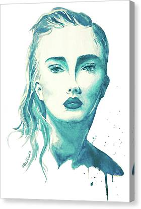 Taylor Swift Canvas Print - Taylor Swift by Aiza Belle
