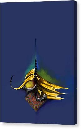Tc Al Maalik 2 Canvas Print by Team CATF