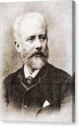 Tchaikovsky, Composer By John Springfield Canvas Print