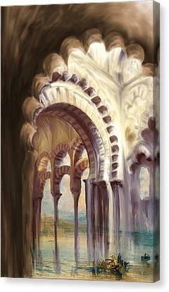 Senorita Canvas Print - Tcm Spanish 158 4 by Mawra Tahreem
