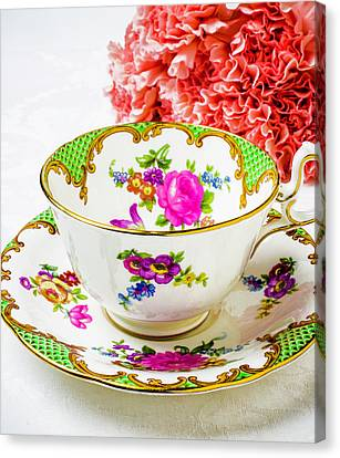 Tea Time Canvas Print by Garry Gay