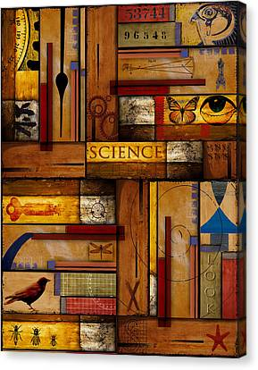 Educational Canvas Print - Teacher - Science by Carol Leigh