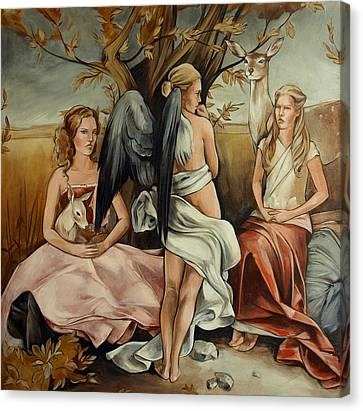 Teaching Mysticism Canvas Print by Jacque Hudson