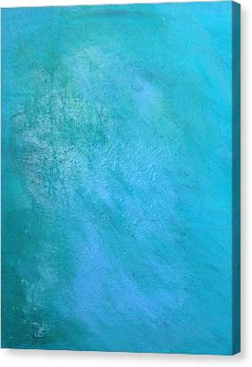 Teal Canvas Print by Antonio Romero