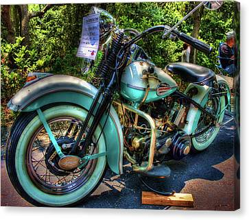 Teal Ride Canvas Print